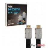 کابل 4K-3D 2.0 HDMI فلت طول 15 متر Knet Plus مدل Silver