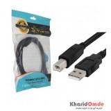 کابل پرینتر USB طول 1.5 متر Five Star