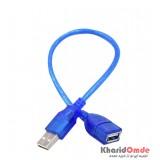 کابل افزایش طول USB طول 30 سانتی متر بدون پک KAISER