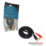 کابل 1 به 2 صدا طول 1.5 متر KAISER