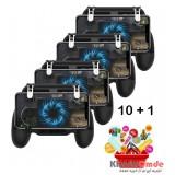 بسته 10 + 1 دسته بازی موبایل PubG مدل SP+ 2000mAh