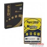 هارد دیسک اینترنال TwinMOS مدل 512GB H2 Ultra SSD