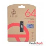 فلش QUEEN tech مدل 64GB ECCO