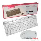 کیبورد و موس بی سیم TSCO مدل TKM 7106W