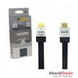 کابل 1.4 3D HDMI فلت طول 3 متر SAMSUNG مدل DLC-HE20HF