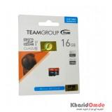 رم موبایل Team Group مدل 16G MicroSD U1 Clas10 80MB/S