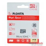 رم موبایل Ridata مدل 16GB 80MB/S 633X