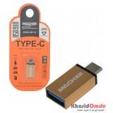 تبدیل Type-C OTG به USB 3.0 فلزی MACHER مدل MR-135 بسته 10 تایی