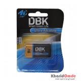باتری کتابی DBK مدل 6LR61 9V Ultra Alkaline