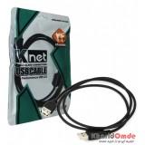 کابل پرینتر USB شیلددار طول 1.5 متر مدل KNET UC500