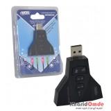کارت صدا 7.1 کاناله USB اکسترنال xVOX مدل X833