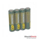 باتری قلمی GP شیرینگ 4 تایی GREENCELL R6P