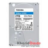هارد دیسک اینترنال اصلی Toshiba مدل 2TB HDWU110 Video V300