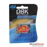 باتری نیم قلمی DBK مدل Ultra Alkaline (کارتی 2 تایی)