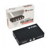 USB سوئیچ دستی 2 پورت V-net