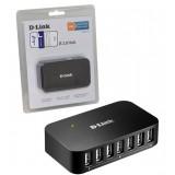 هاب 7 پورت USB2.0 برند D-Link مدل DUB-H7