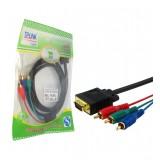 کابل تبدیل VGA به 3 فیش صدا و تصویر RCA طول 1.5 متر TP-LINK