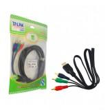 کابل تبدیل HDMI به 3 فیش صدا و تصویر RCA طول 1.5 متر TP-LINK