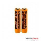 باتری نیم قلمی شارژی Panasonic مدل HHR-55AAAB 550mAh (پک شرینگ)