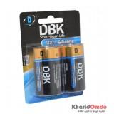 باتری سایز بزرگ DBK مدل D LR20 Ultra Alkaline (کارتی دوتایی)