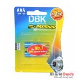باتری نیم قلمی DBK مدل LR03 Ultra PREMIUM