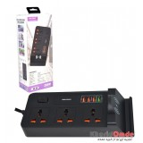 رابط برق + فست شارژ USB + شارژ وایرلس کلومن Koluman مدل KS-C4