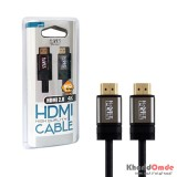 کابل HDMI 2.0 4K-3D طول 2 متر Knet Plus مدل KP-HC151