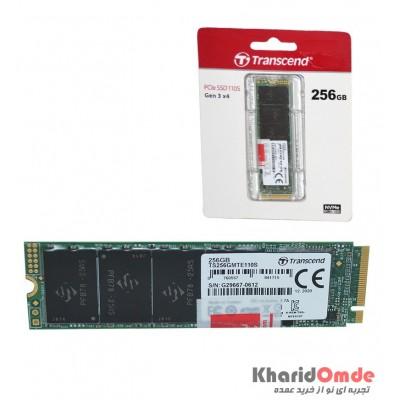 هارد SSD M.2 اینترنال اورجینال Transcend مدل 256GB PCIe SSD 110S Gen 3*4
