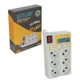 محافظ برق کامپیوتر و لوازم خانگی EFFORT مدل 6 خانه 3 متری E6000