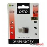فلش X-Energy مدل 64GB DITO OTG