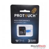 رم موبایل پروتاچ (ProTouch) مدل 64GB MicroSD 667X USH-I V30 U3 A1