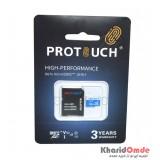 رم موبایل پروتاچ (ProTouch) مدل 128GB MicroSD 667X USH-I V30 U3 A1