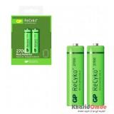 باتری قلمی اورجینال شارژی GP سری Recyko+ 2700mAh (2 تایی)