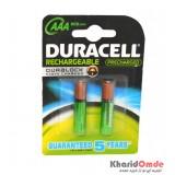 باتری اورجینال نیم قلمی شارژی DURACELL مدل 800mAh (2 تایی)