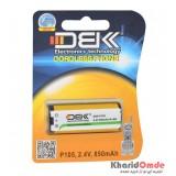 باتری تلفن D.B.K مدل P105 2.4V 850Mah