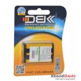 باتری تلفن D.B.K مدل P107 3.6V 800Mah