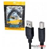 کابل پرینتر USB طول 1.5 متر EFFORT