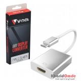تبدیل V-net Type-C To HDMI