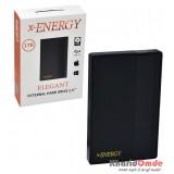 هارد اکسترنال ایکس انرژی (x-ENERGY) طرح USB 3.0 ELEGANT یک ترابایت