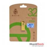 فلش Queen Tech مدل 32GB STEEL