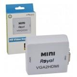 تبدیل VGA به HDMI رویال (Royal) مدل MINI VGA2HDMI