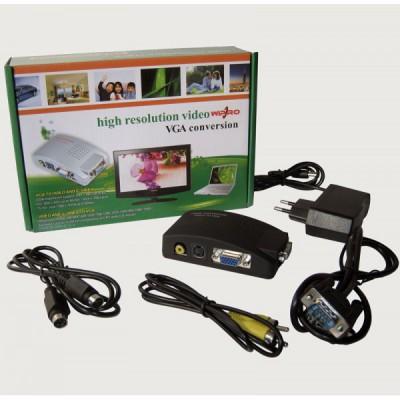 تبدیل AV و S-video به Wipro VGA مدل YZ-1802