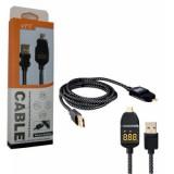 کابل Micro USB مولتی متر دار 1.2 متری مدل 3286