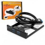 باکس اینترنال پنل دار USB3.0 دو پورت 2.5 اینچ Wipro مدل BET-2PU3