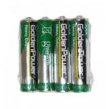 باتری نیم قلمی GoldenPower مدل R03P AAA