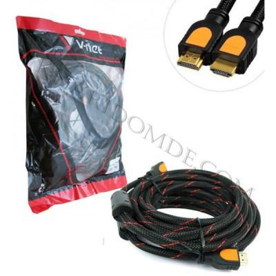 کابل 3D 1.4 HDMI طول 10 متر V-net