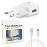 شارژر USB سامسونگ مدل + کابل Micro USB کد 247