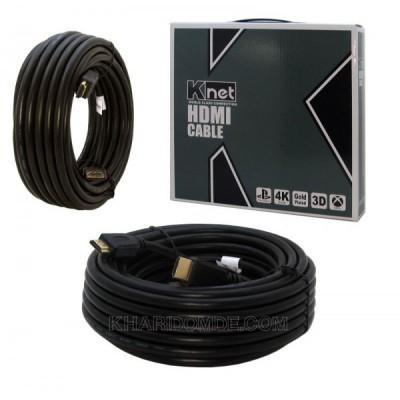 کابل 3D 1.4 HDMI طول 10 متر Knet