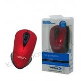 موس بی سیم OSCAR مدل OS-12 قرمز-مشکی