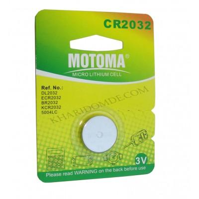 باتری مادربرد MOTOMA مدل CR2032
